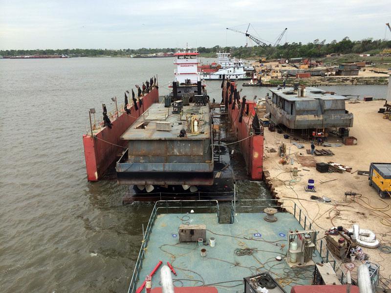 Gulf Coast Shipbuilding Marine Vessels Construction San Jac Marine